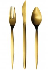 Набор столовых приборов Tiffany 24 предмета Gold