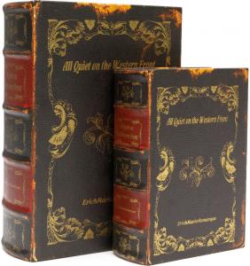Шкатулки в виде книг Remarque 19X8X27 / 14X6X20 CM