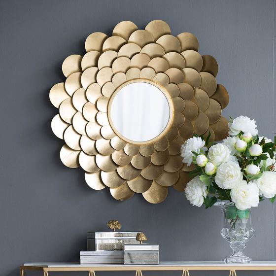 Зеркало декоративное Gorgeous Ø80 CM 3
