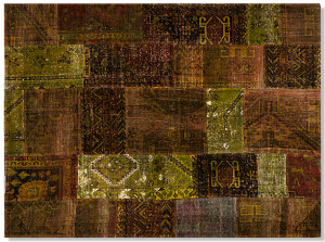 Шерстяной ковёр Old School 240X177 CM