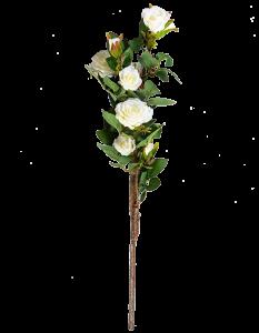 Искусственная ветка розы 77X13 CM