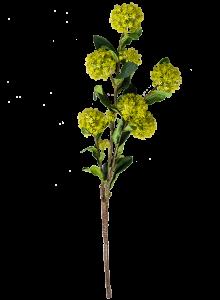 Искусственный цветок гортензии 76X18 CM