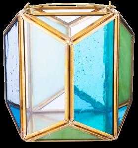 Флорариум Artiest Color 16X16X15 CM