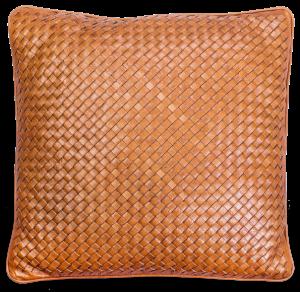 Декоративная подушка c наволочкой из кожи Weaving 41X41 CM