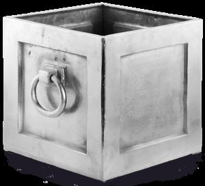 Кашпо напольное из металла Merle Ain 40X35X35 CM