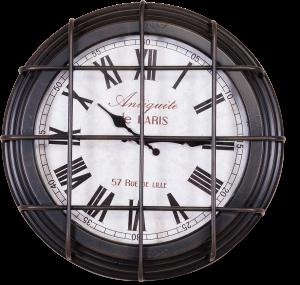 Часы настенные Old Town Ø41 CM чёрные