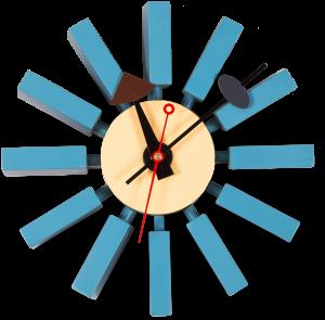 Часы настенные Block Clock Ø30 CM