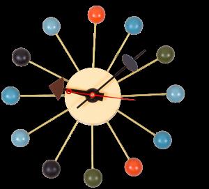 Часы настенные Ball Clock Ø35 CM