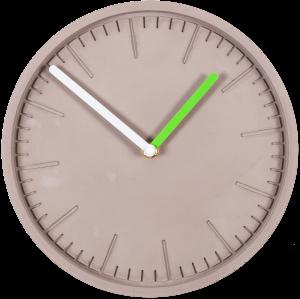 Часы настенные Form Ø25 CM серые
