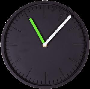 Часы настенные Form Ø25 CM чёрные