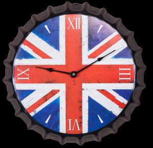 Часы настенные Union Jack  Ø35 CM