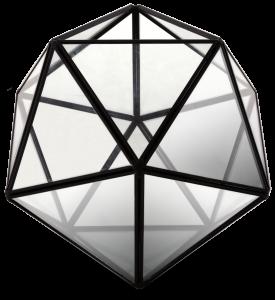Флорариум настольный Prism 18X18X21 CM
