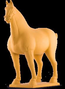Конь Gezellig 52X20X45 CM жёлтый