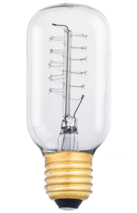 Лампа Эдисона Е27 T45/110 40Вт