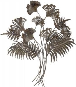 Декор настенный из металла Tropics 85X94 CM