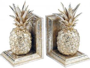 Подпорки для книг Pineapples 12X11X21 / 12X11X21 CM