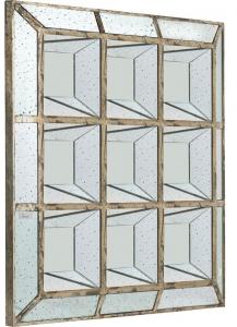 Зеркальное панно в винтажном стиле Ecolier 117X117 CM