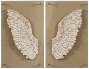 Декор настенный Wings 38X61 / 38X61 CM