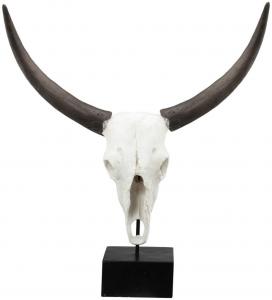 Декоративный элемент Bull's Skull 58X26X66 CM