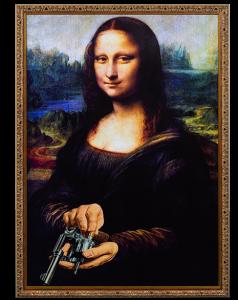 Картина Vendetta 60X84 CM