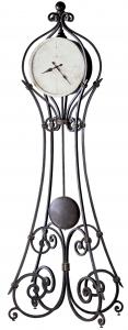 Напольные часы с маятником Giant Aged Ironstone 27X19X112 CM