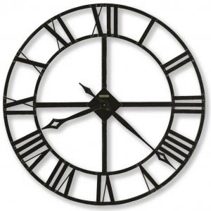 Настенные часы из кованого железа Lacy Ø81 CM