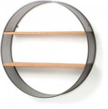 Настенная полка круглой формы Helia Ø80 CM