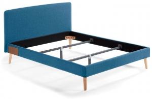 Кровать Lydia под матрас 190X150 CM голубая