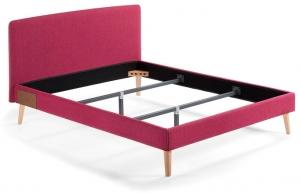 Кровать Lydia под матрас 190X150 CM лиловая