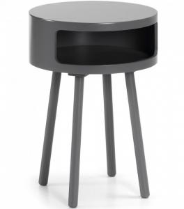 Столик Kurb B 40X40X56 CM тёмно серый
