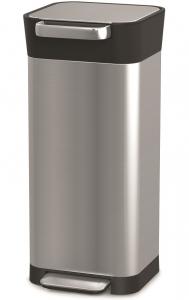 Контейнер для мусора с прессом Titan 20 L нержавеющая сталь