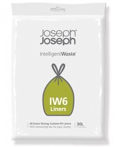 Пакеты для мусора iw6 30 L экстра прочные (20 шт)