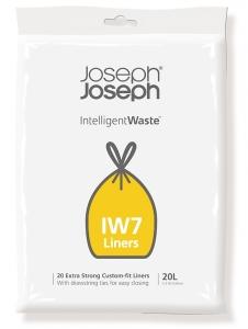 Пакеты для мусора iw7 20 L экстра прочные (20 шт)