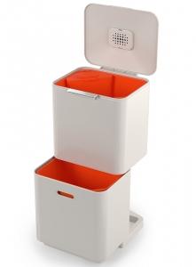 Контейнер для мусора с двумя баками Totem Max 60 L