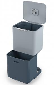 Контейнер для мусора с двумя баками Totem Max Sky 60 L