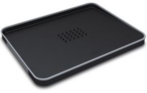 Доска разделочная для мяса Cut&Carve™ plus двухсторонняя 38X29 CM черная