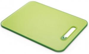 Доска разделочная с ножеточкой Slice&Sharpen™ 37X27 CM зеленая