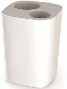 Контейнер для мусора split™ для ванной комнаты серый