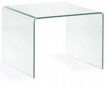 Стеклянный столик Burano 60X60X45 CM