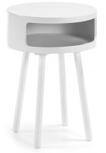 Столик Kurb B 40X40X56 CM белый