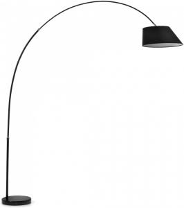 Торшер с регулировкой размеров Lee 189-220X180-200X45 CM чёрный