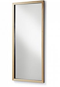 Зеркало в скандинавском стиле Drop 78X178 CM чёрная рама