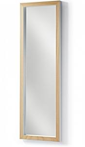 Зеркало в скандинавском стиле Drop 48X148 CM белая рама