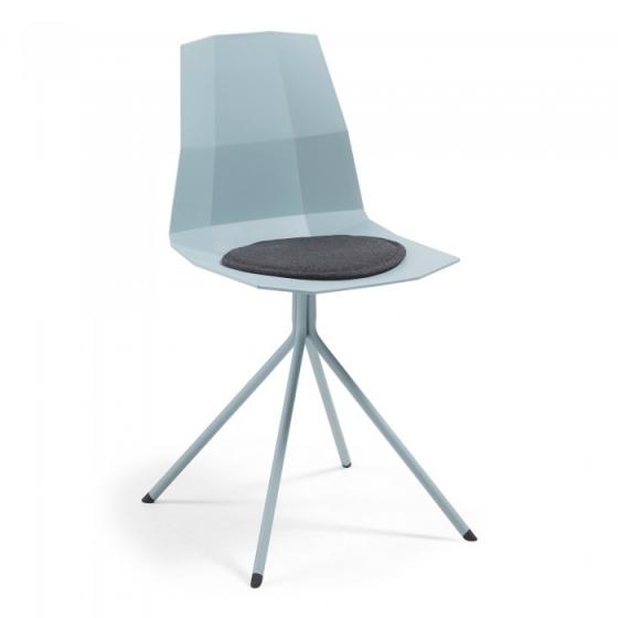 Подушка для стула круглая Stick Ø35 CM тёмно серая 3