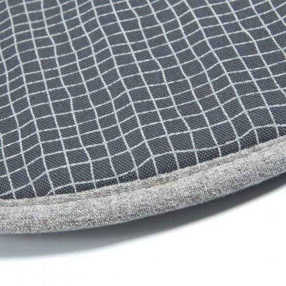 Подушка для стула круглая Stick Ø35 CM тёмно серая 2