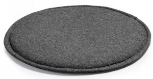 Подушка для стула круглая Stick Ø35 CM тёмно серая