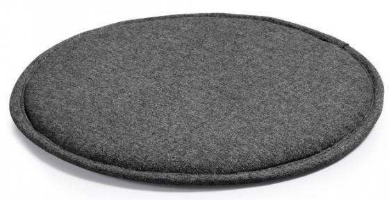 Подушка для стула круглая Stick Ø35 CM тёмно серая 1