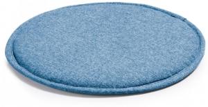 Подушка для стула круглая Stick Ø35 CM голубая
