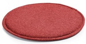 Подушка для стула круглая Stick Ø35 CM красная