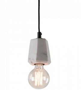 Подвесной светильник мраморный Bunt 12X9X9 CM белый